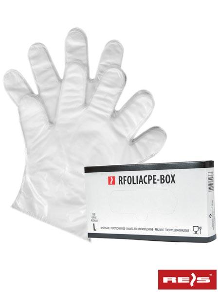 RFOLIACPE-BOX - DISPOSABLE PLASTIC GLOVES