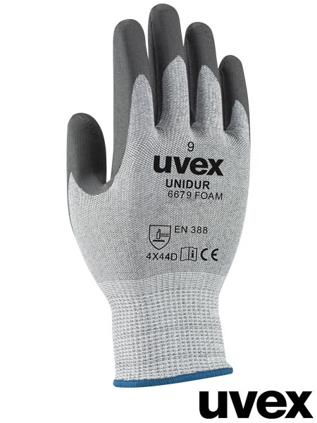RUVEX-UNI6679F ZWB 8 - PROTECTIVE GLOVES