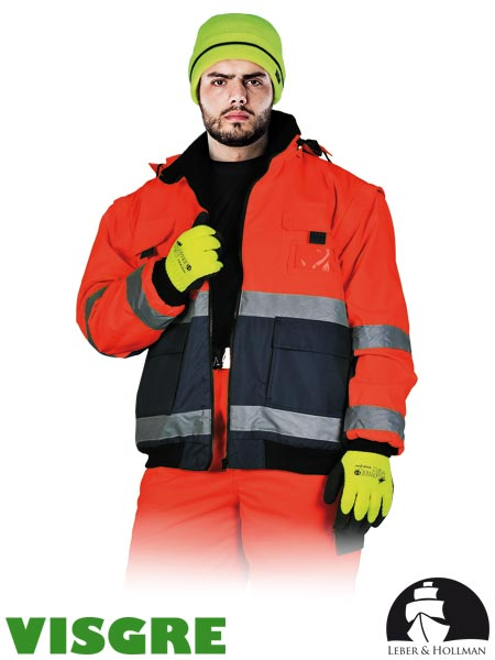 LH-VIBER CG XXL - PROTECTIVE INSULATED JACKET