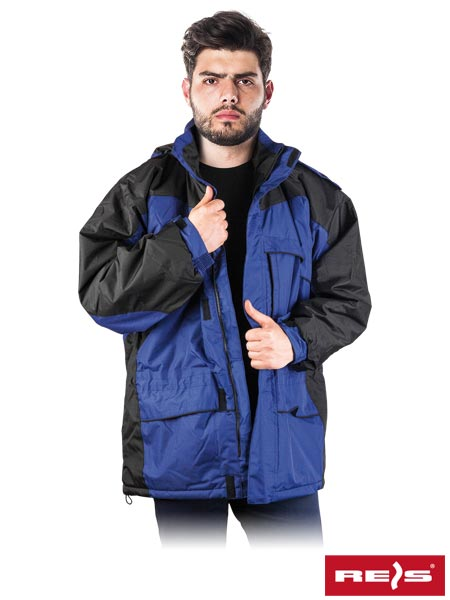 WIN-BLUE NB XXL - PROTECTIVE INSULATED JACKET