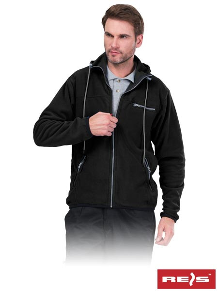 POLAR-HOOD B 2XL - PROTECTIVE FLEECE JACKET