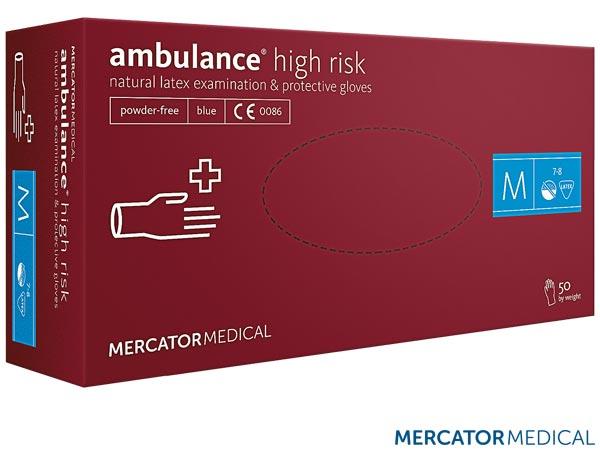 RMM-AMBULANCE - LATEX GLOVES 8% VAT