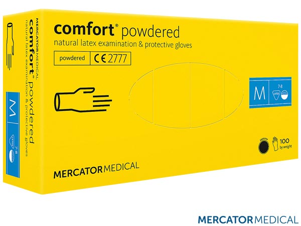 RMM-COMFORT KR L - LATEX GLOVES 8% VAT