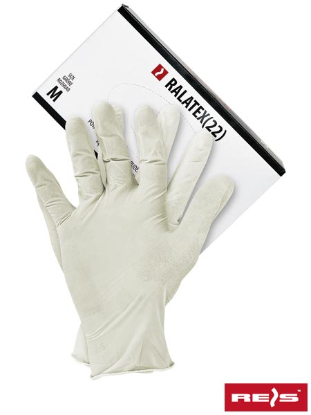 RALATEX(22) W S - LATEX GLOVES