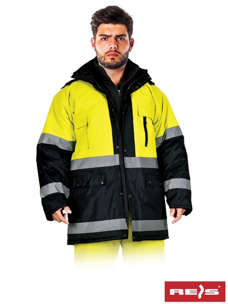 BLUE-YELLOW - PROTECTIVE INSULATED JACKET