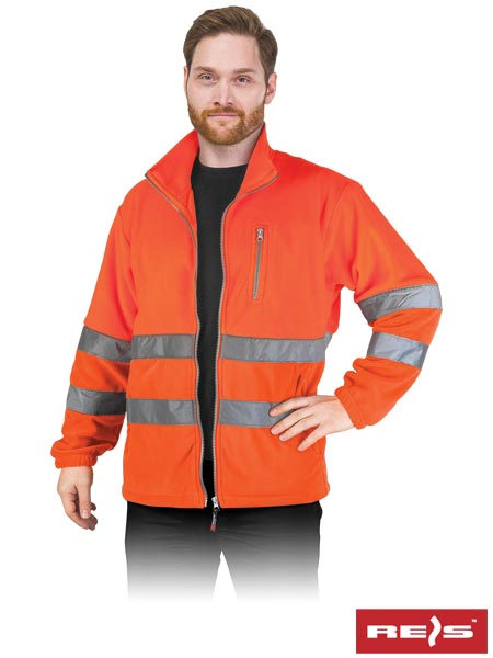 POLSTRIP YB L - PROTECTIVE FLEECE JACKET