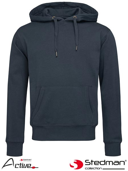 SST5600 KIW S - HOODED SWEATSHIRT MEN