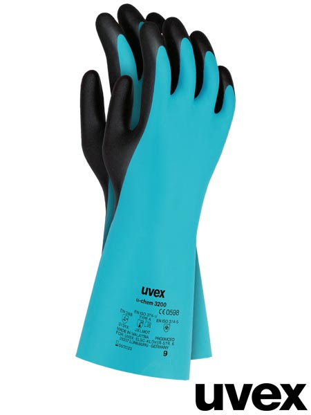 RUVEX-CHEM3200 NB 10 - PROTECTIVE GLOVES