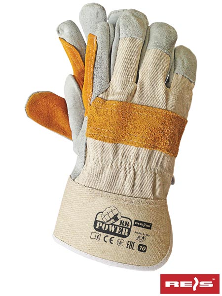 RBPOWER_Y - PROTECTIVE GLOVES