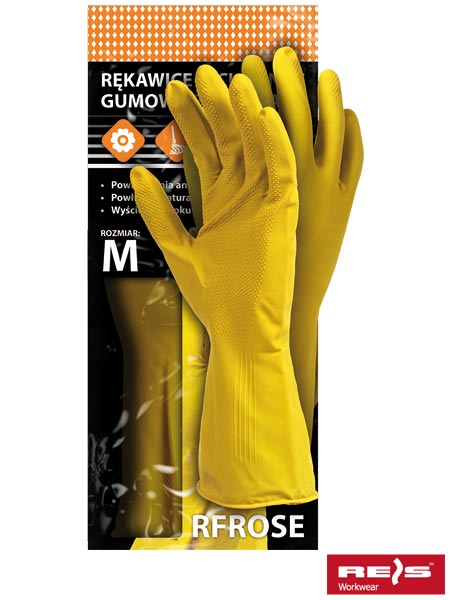 RFROSE Y XL - PROTECTIVE GLOVES