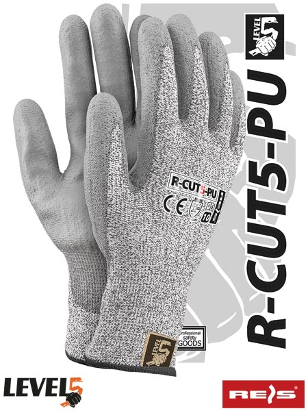 R-CUT5-PU BWS 9 - PROTECTIVE GLOVES