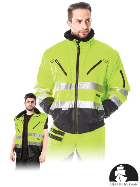 LH-XVERT-J YB XL - PROTECTIVE INSULATED JACKET