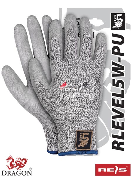 RLEVEL5W-PU - PROTECTIVE GLOVES