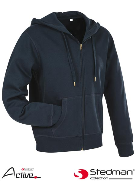 SST5610 BLO M - HOODED SWEATJACKET FOR MEN