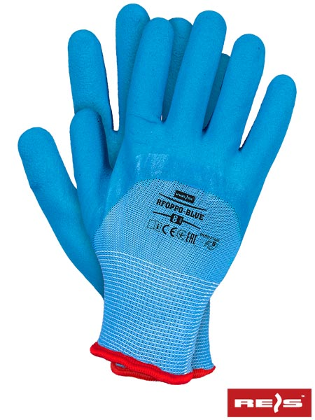 RFOPPO-BLUE - PROTECTIVE GLOVES