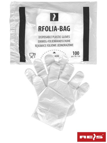 RFOLIA-BAG - DISPOSABLE PLASTIC GLOVES