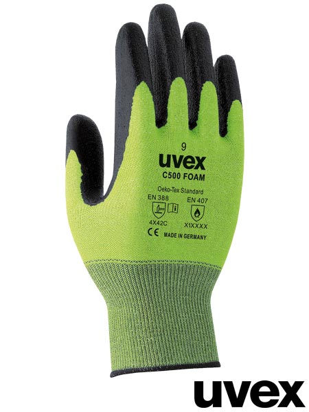 RUVEX-C500FOAM ZB 7 - PROTECTIVE GLOVES