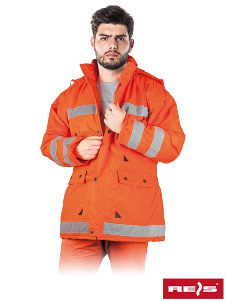K-ORANGE P XXL - PROTECTIVE INSULATED JACKET