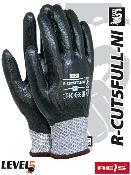 R-CUT5FULL-NI BWB - PROTECTIVE GLOVES