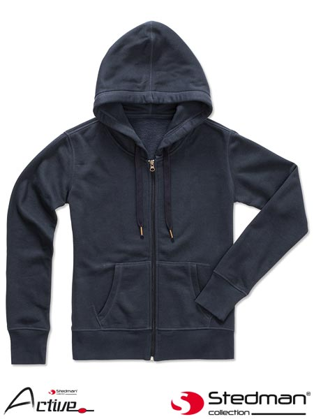 SST5710 SPK M - HOODED SWEATJACKET FOR WOMEN