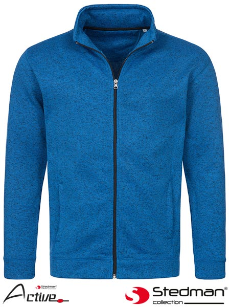 SST5850 LGM S - FLEECE JACKET MEN