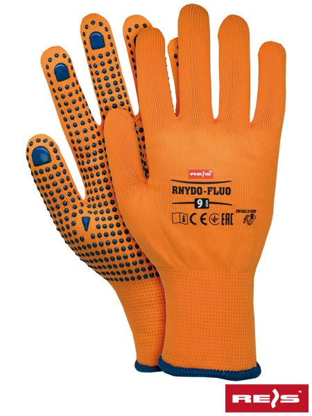 RNYDO-FLUO P 10 - PROTECTIVE GLOVES