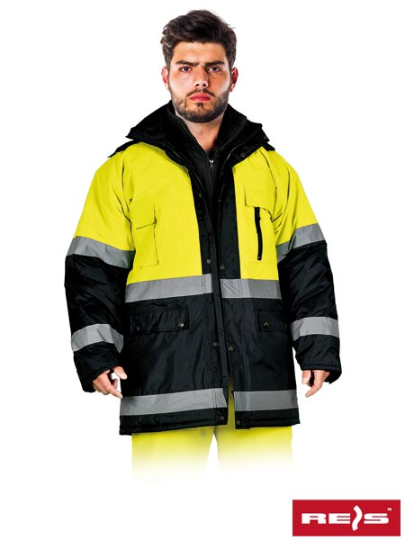 BLUE-YELLOW-J YG - PROTECTIVE INSULATED JACKET